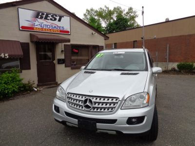 2007 Mercedes-Benz M-Class ML350 (Desert Silver Metallic)