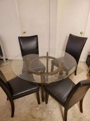 Dining table and 4 chairs $150 OBO