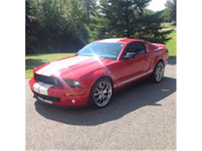 2007 Ford Mustang Shelby GT500 (Torch Red Clearcoat)