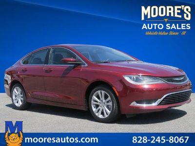 2015 Chrysler 200 Limited (Dk. Red)
