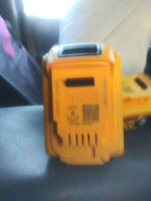 20v dewalt batteris