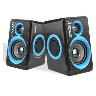 Surround Computer Speakers with Deep Bass,Reccazr SP2040 USB Wired Powered Multimedia Speaker