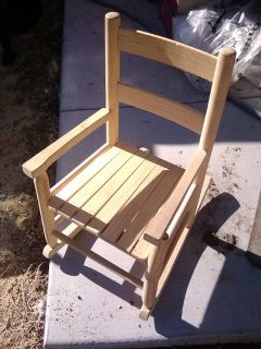 Child's Wood Rocker