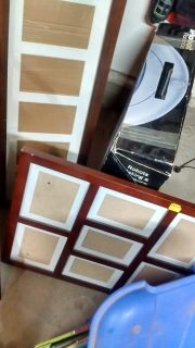 Picture frames - Yard sale tomorrow!