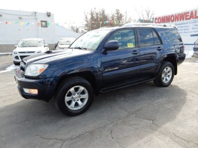 2004 Toyota 4Runner SR5 (Pacific Blue Metallic)