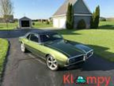 1968 Pontiac Firebird factory green paint