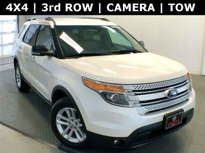 2015 Ford Explorer XLT (White Platinum Metallic Tri-Coat)
