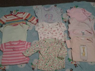 baby girl clothes from nb to 6 m