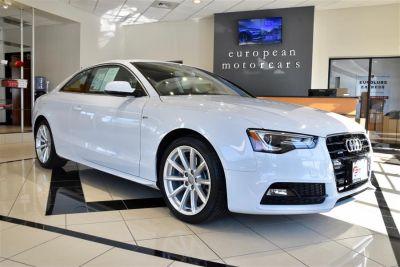 2016 Audi A5 2.0T quattro Premium Plus (Glacier White Metallic)