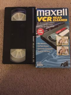 VHS head cleaners