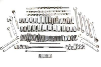 Huge Lot of 90+ Pieces Craftsman Sockets Wrenches Etc., Mixed Sizes