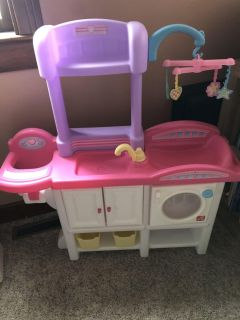 Step 2 baby doll station
