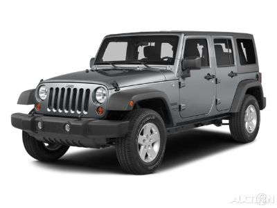 2014 Jeep Wrangler Unlimited Rubicon (Billet Metallic Clearcoat)