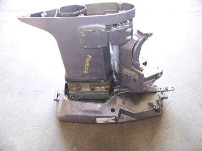 Purchase Clean Used Freshwater Johnson or Evinrude exhaust housing 70 hp motorcycle in Scottsville, Kentucky, United States, for US $99.00