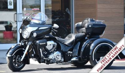 2018 Indian Motorcycle Roadmaster California Side Car Trike in Thunder Black