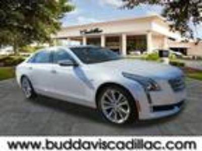 2017 Cadillac CT6 White, 10 miles