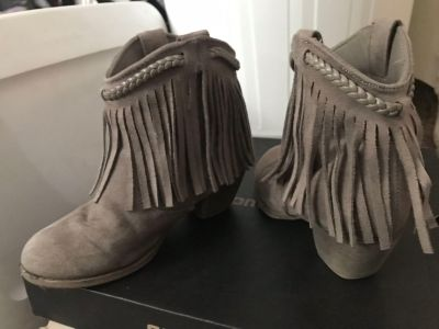 Rock and candy booties