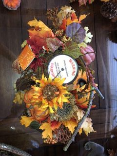 New Fall table center piece