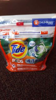 Tide plus Febreze pods 4 in 1 Botanical rain 15-count