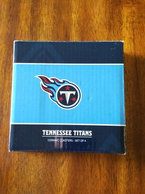 Tennessee Titans Ceramic Coasters *New*