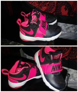 Pink and nike
