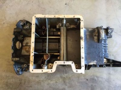 Sell BMW m62 m62tu x5 e53 OEM upper engine motor oil pan sump 4.4l motorcycle in Las Vegas, Nevada, United States, for US $60.00