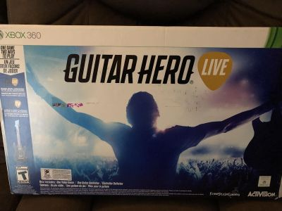Brand new guitar hero game for Xbox 360