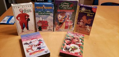 Christmas vhs tapes 6