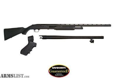 For Sale: Mossberg 500 3in1 shotgun 2 barrels New In Box