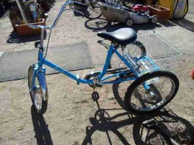$350 3-Wheel Folding Bicycle