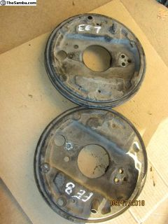 vanagon backing plates EE 7-8