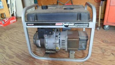 Coleman Powermate Generator - 6,250 Watts - NEW PRICE