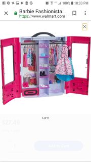 Looking For: Barbie Doll case