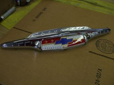 Find 1953 Chevy hood emblem ORIG NEWLY [triple] PLATED L@@@@@@@@@K motorcycle in Springfield, Ohio, United States, for US $299.00