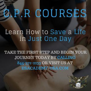 At E&S Academy we offer CPR/BLS classes. Enroll now