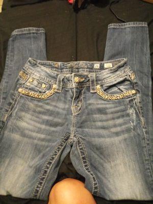 MissMe jeans size 26 skinny