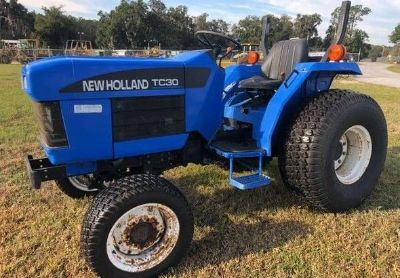 2004 New-Holland Tc30-Tractor-4wd