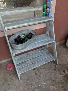 Rustic utility Shelf