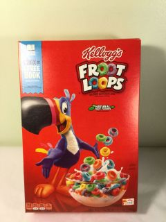 Kellogg s fruit loops cereal, expiration June 2020