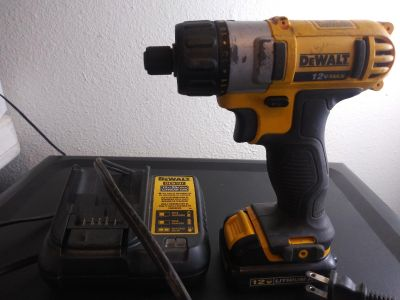 Dewalt DCF610 with charger.