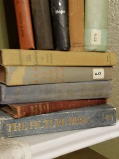 Little group of vintage books
