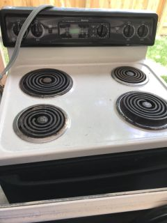 Electric GE stove for sale