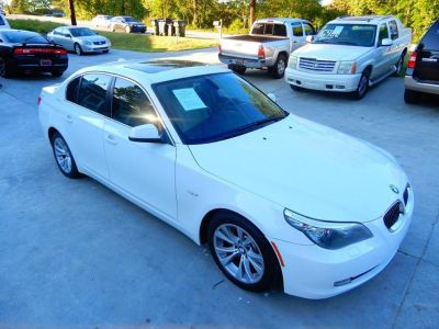 2010 BMW 5-Series 535i (WHITE)