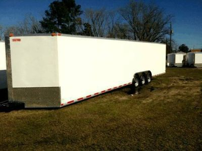 NEW 8.5X34 ENCLOSED CARGO TRAILER