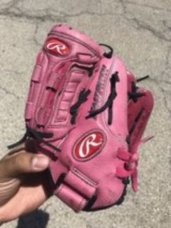 Rawlings 11 leather fastpitch softball glove