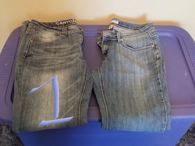 Women's Slacks and Jeans Size 8 and 10