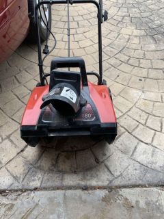 Electric snow blower 18