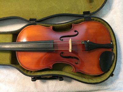 "16"" Knilling Viola with Bow and Vintage Lifton Case"