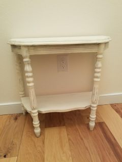 Shabby Chic Accent Table or Nightstand