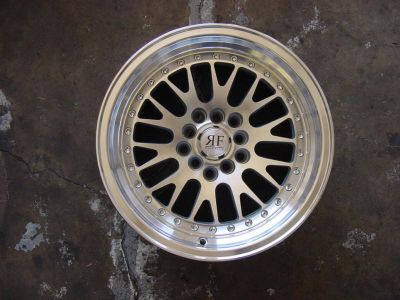 """Purchase 15"""" CCW Style Replica Wheels 5x100 / 5X114 Silver Rims Polish Lip 15x8 VW Scion motorcycle in Reseda, California, US, for US $449.00"""